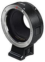 Canon EF-EOS M - Adaptador para Objetivos de cámaras Canon (Montura EF-M, Compatible con EOS M), Color Negro