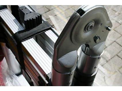 Varan motors dlt709b aluminium anlegeleiter teleskopleiter 5 6m 18