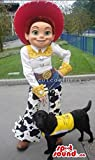Cowboy Jessie Character From Toy Story Well-Known Movie