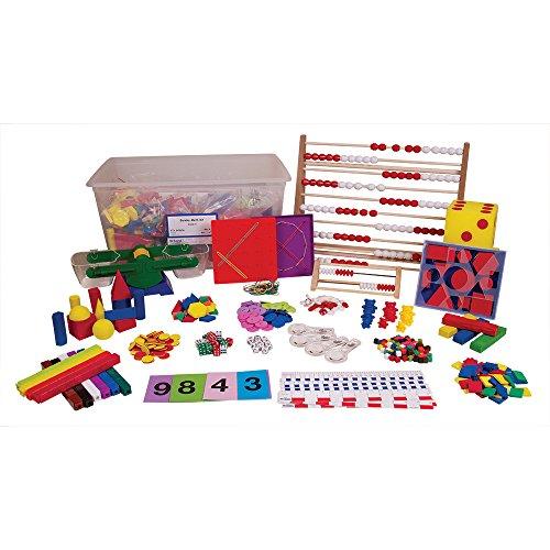 Grade K Kindergarten Manipulatives Kit for use with Great Minds' Eureka Math Curriculum (Kindergarten Math Kit)