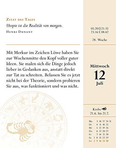 Sternzeichenkalender Skorpion 2017 Ih Horoskop Für Jeden