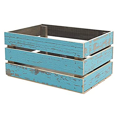 Timeline 963 Wood Crate, Blue