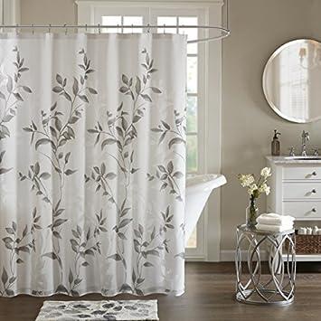 Amazon.com: Vera Grey Printed Shower Curtain, 72 x 72: Home & Kitchen