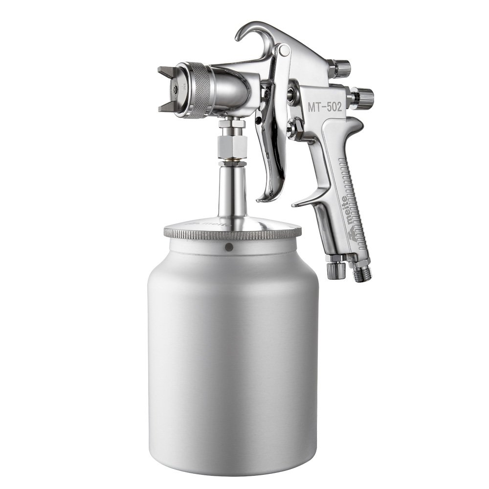 meite MT-502-2525S Heavy Viscosity Spray Gun 2.5mm Nozzle 50 PSI Suction Feeding Spray Gun
