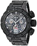 Invicta Men's 'Disney Limited Edition' Quartz Stainless Steel Casual Watch, Color:Black (Model: 24690)