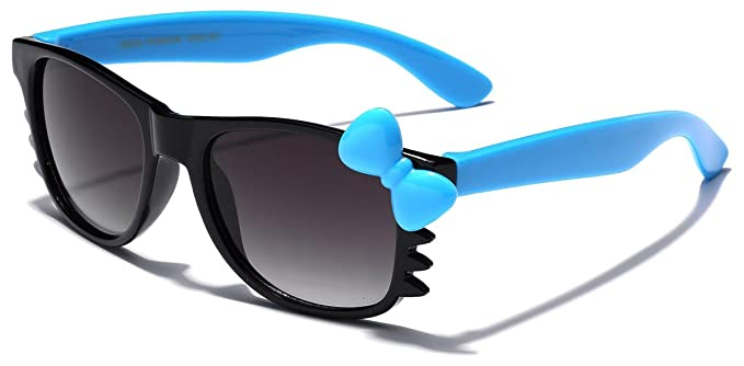 56b7bc91ca Cute Hello Kitty Baby Toddler Sunglasses Age up to 4 years - Black   Blue