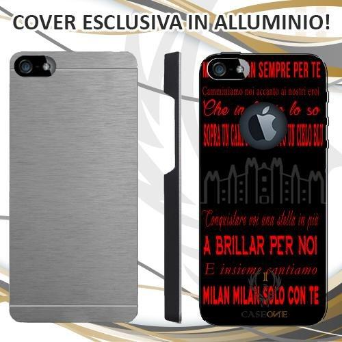 CUSTODIA COVER CASE CORO MILAN PER IPHONE 5 5S IN ALLUMINIO