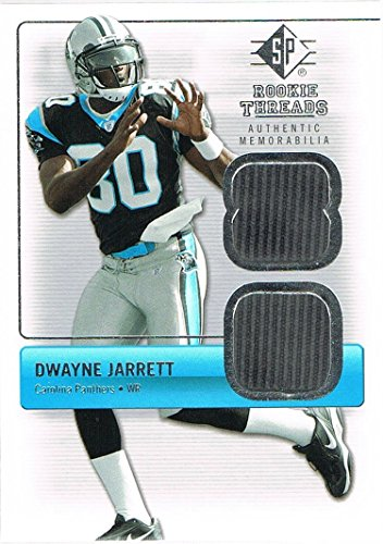 2007 SP Rookie Threads Rookie Threads Silver Jersey #RTDJ Dwayne Jarrett (Sp Threads 2007 Base Rookie)