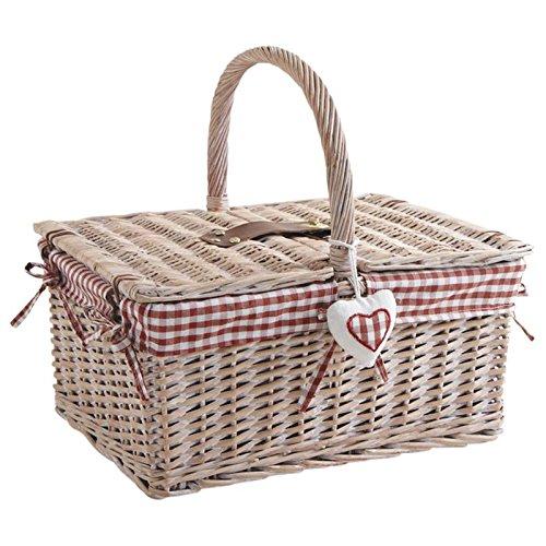 Picknickkorb aus Weide 2Deckel