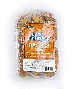 ThinSlim Foods 100 Calorie, 2g Net Carb, Love The Taste Low Carb Plain Bagels