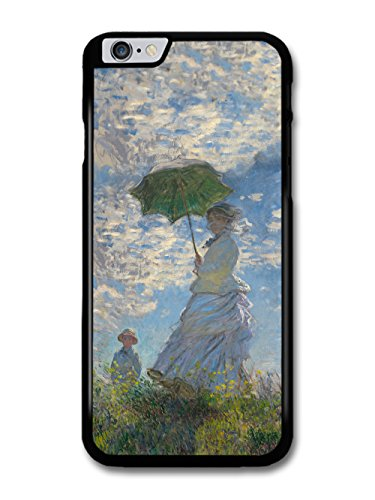 Claude Monet Woman with a Parasol, Lady Monet and her Son Artist Art Vintage case for iPhone 6 Plus 6S Plus