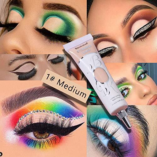 BELLESKY Matte Eyeshadow Primer Prevent Oily Lids and Creasing Eye Primer Base Long-lasting Waterproof & Smudgeproof Eye…