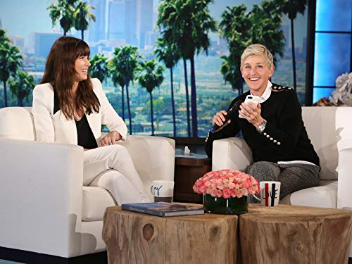 Ellen and Jessica Biel Surprise Justin Timberlake