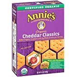 Annie's Organic Bunny Classics Crackers, Cheddar, 6.5 Ounce (Pack of 12)
