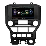 Docooler Double-DIN 8 Inches 720P Touch Screen Car USB Video & Audio Player Receiver, GPS Navigation Unit for Ford Mustang 2015 2016 2017 with Map and Card