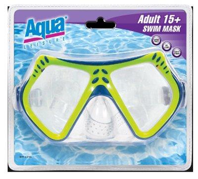 Aqua Sport Swim Mask Deluxe, Intermediate Youth - Deluxe Swim Mask