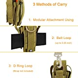 Depring Tool Holster Sheath Universal Multi Pockets Tool Organizer Heavy Duty Construction MOLLE Pouch