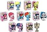 Funko Pop! My Little Pony TV Cartoon Horse Vinyl Figure Collector Toy Set 01-07