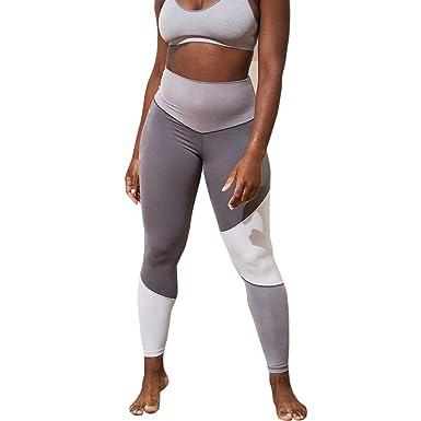 Geilisungren Pantalones de Yoga Mujer, Pantalón Deportivo de ...