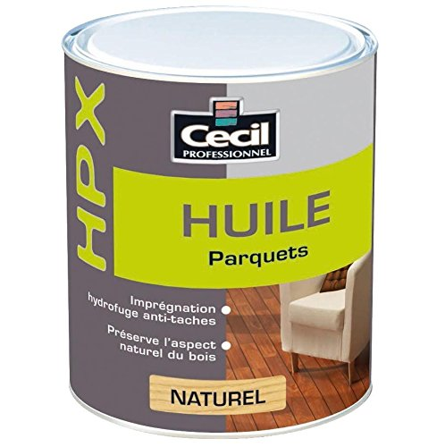 Huile Parquet CECIL HPX - Naturel