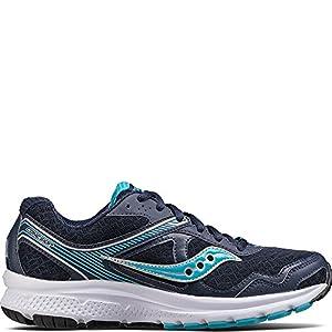 Saucony Women's Cohesion 10 Running Shoe, Navy Blue, 7 Medium US