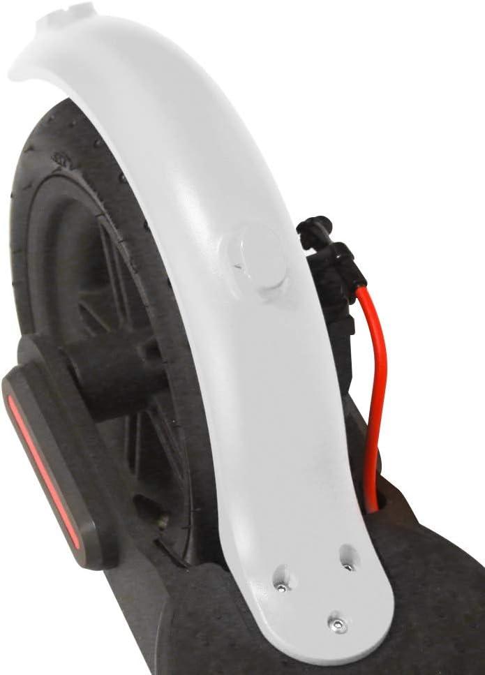 ACELEY Guardabarros Trasero para Scooter el/éctrico Guardabarros Trasero Accesorios de Pieza de Repuesto para Scooter Duradero para Scooters el/éctricos Xiaomi M365 Negro