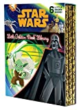 img - for The Star Wars Little Golden Book Library (Star Wars) (Little Golden Book: Star Wars) book / textbook / text book