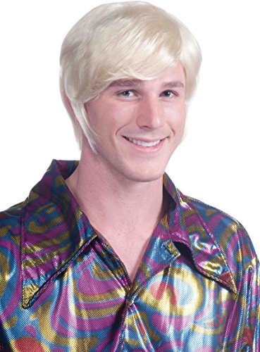 Forum Novelties 70s Guy Blonde Wig Yellow