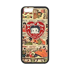 Classic Style Custom Silicone Hard Rubber Protector Case for iPhone6(4.7inch) - Betty Boop
