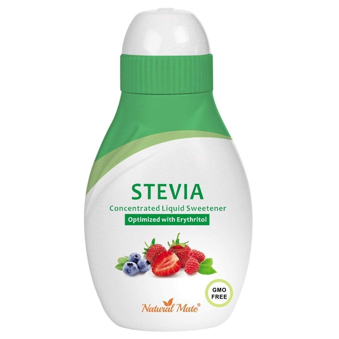 Stevia Concentrated Liquid Sweetener (Optimized with Erythritol) 1.33 FL OZ (37 mL)