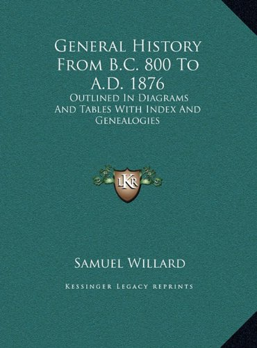 Download General History From B.C. 800 To A.D. 1876: Outlined In Diagrams And Tables With Index And Genealogies pdf epub