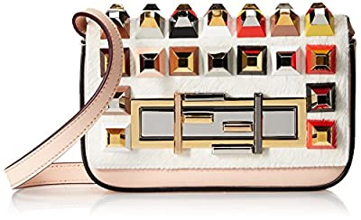 Fendi Women's 3Baguette Mini, Rosa, One Size