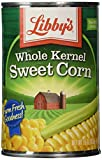Libby's Whole Kernel Sweet Corn, 15 Ounce Cans (Pack of 12)