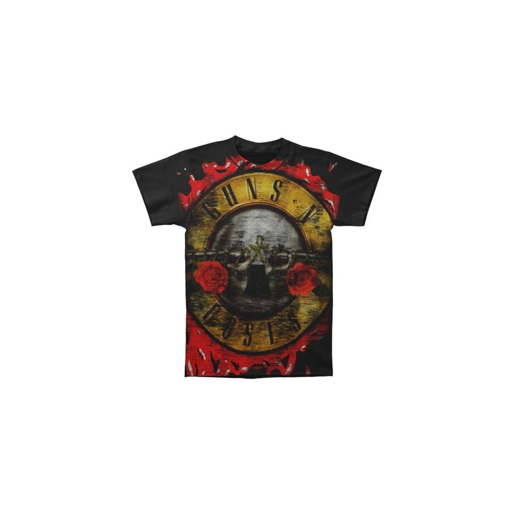 Blue Star Guns N Roses–Jumbo Bloody Bala–Para Hombre S