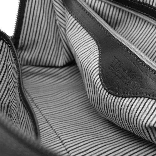 Hombro Leather Marrón Mujer Piel Cerdo De Para Al Bolso Tuscany qtSnx4116