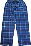 Hanes Men's Flannel Sleep Pants, Nordic/Polar Design (L 36/38)