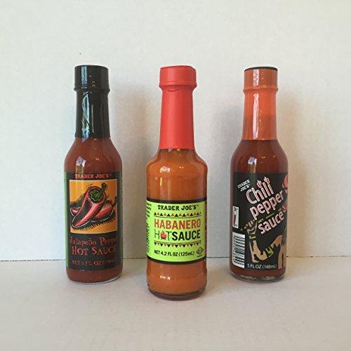 Trader Joe's Jalapeno Pepper Hot Sauce, Trader Joe's Habaner
