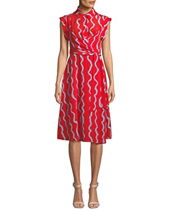 1de1efb8a4113 Image Unavailable. Image not available for. Color: Diane von Furstenberg  Avery S/S Silk Shirt ...