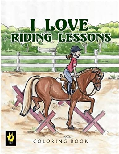 Book I Love Riding Lessons Coloring Book