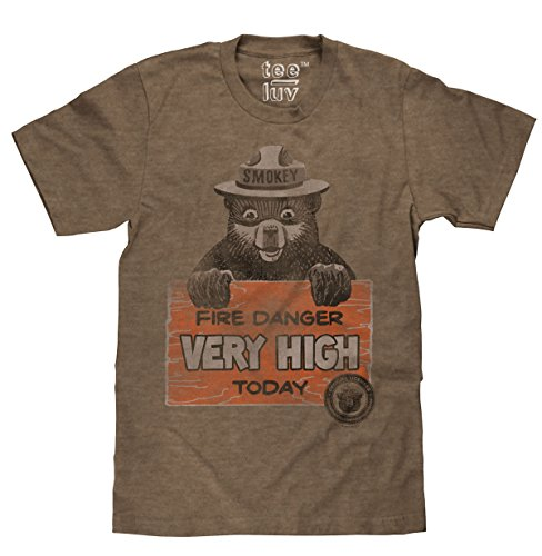 smokey-bear-fire-danger-very-high-today-licensed-t-shirt-x-large