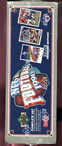 1991 Upper Deck Football Card Complete FACTORY SEALED Box set Brett Favre Rookie 1991 Upper Deck Football Card