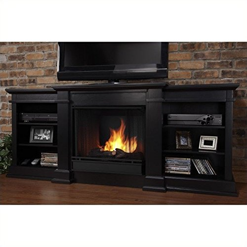 Electric Fireplace Fresno Real Flame Portable Entertainment