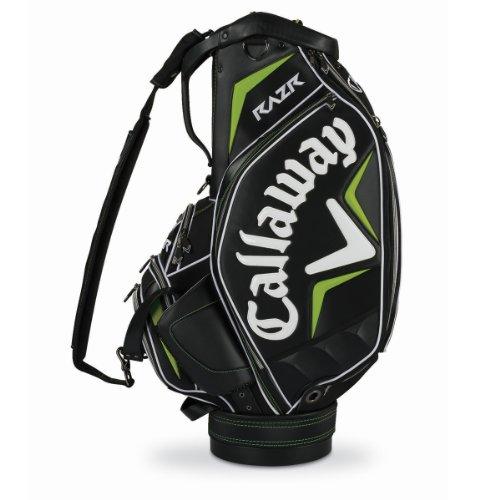 Callaway RAZR Staff Bag, Black/Green