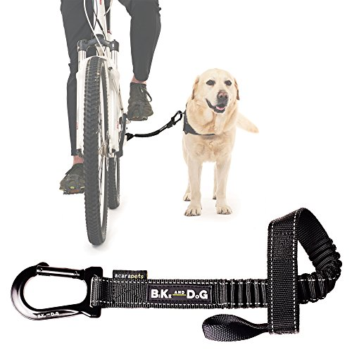 Dog Bike Leash: Designed to take one or More Dogs with a Bicycle. Patented Product. (Best Dogs For Mountain Biking)