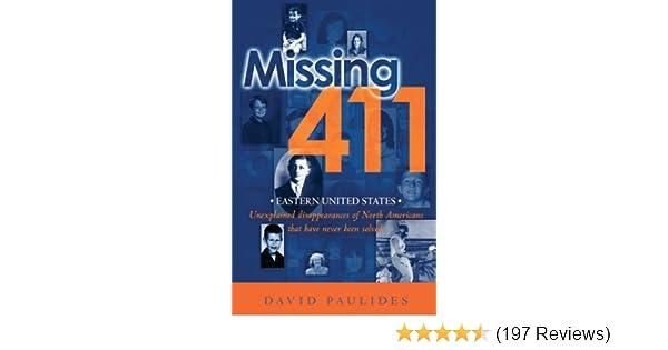 Amazon.com: Missing 411- Eastern United States: Unexplained ...