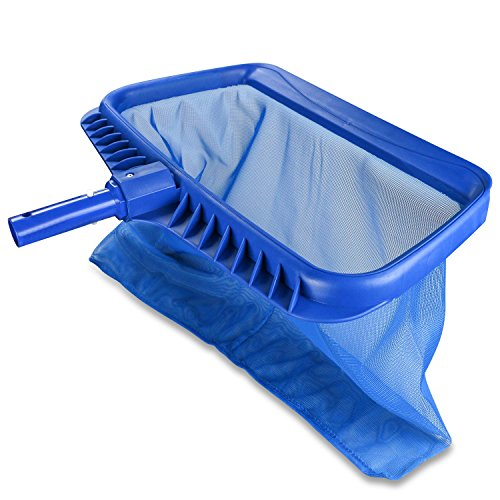 Homga Swimming Pool Cleaning Net, Heavy Duty Leaf Skimmer Sturdy Than Other Pool Nets, Deep Bag Pool Skimmer for Cleaning Surface of Swimming Pools, Hot Tubs, Spas and Fountains by Homga