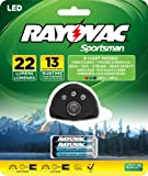 RAYOVAC Sportsman 22 Lumen 3AAA 5-LED Headlight with Batteries, SPHL3AAA-BA