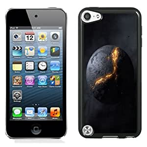 NEW Unique Custom Designed iPod Touch 5 Phone Case With Exploding Planet Abstract_Black Phone Case