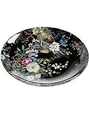 Maxwell & Williams WK01520 Kilburn bord, taartbord, ontbijtbord, Midnight Blossom, 20 cm, in geschenkdoos, porselein