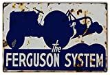 """Reproduction Ferguson System Tractor Sign 12""""x18"""""""